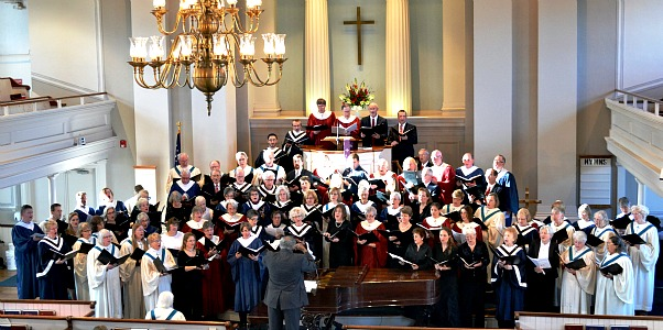 NMCC Choir with full festival choirs at Choir Fest 2013 Hosted by NMCC